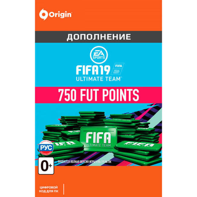 FIFA 19 Ultimate Team FUT 750 Points - Origin GLOBAL