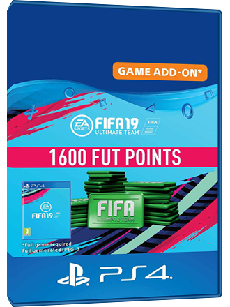 FIFA 19 Ultimate Team FUT 1600 Points - PS4 RU