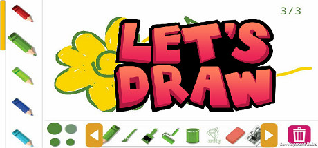 Let´s Draw (Steam key/Region free) Trading Cards