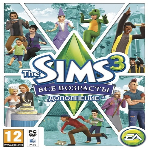 The Sims 3 - Generations / All ages (DLC) STEAM