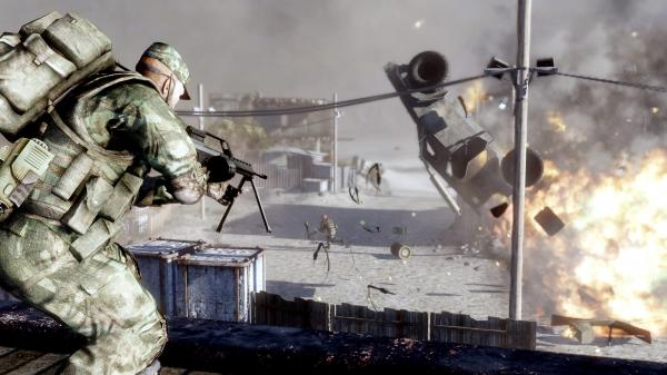 Battlefield: Bad Company 2 - STEAM Gift - (RU+CIS+UA**)