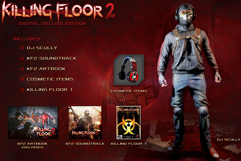 Killing Floor 2 Deluxe Edition Upgrade steam gift RU