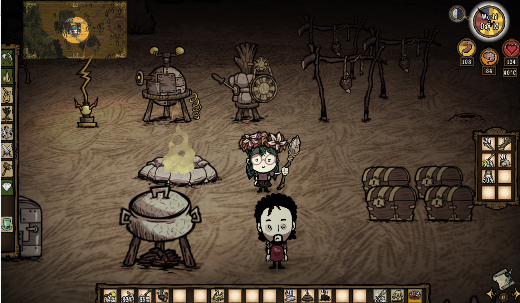 Dont Starve Together Steam Gift Row