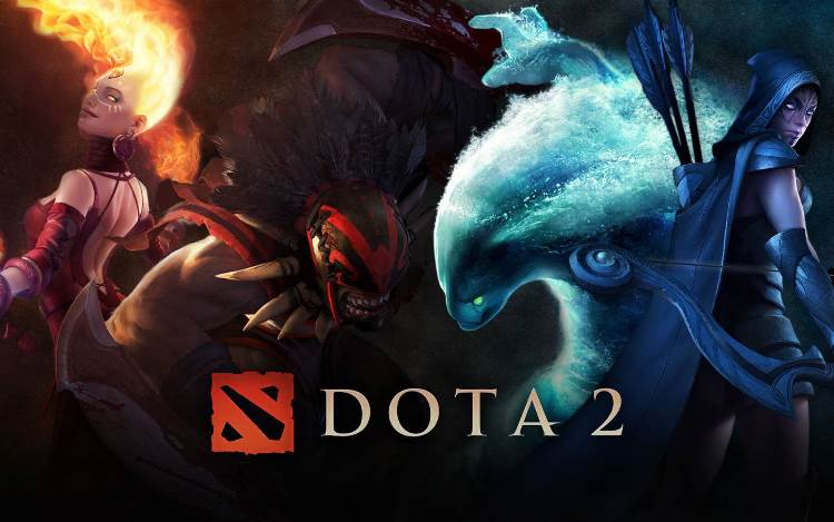 DOTA 2 from 2000 to 4000 hours of game accaunt Steam
