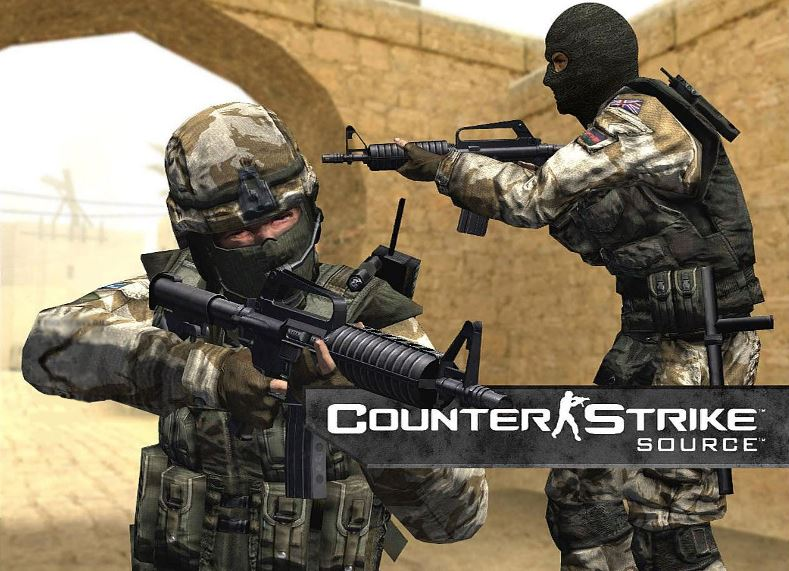 Counter-Strike: Source - account registered in 2004