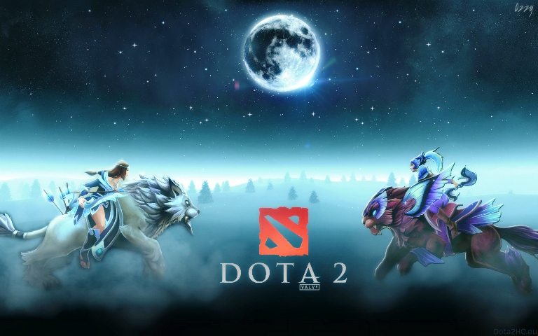Dota 2 with inventory of 200 pieces Steam account