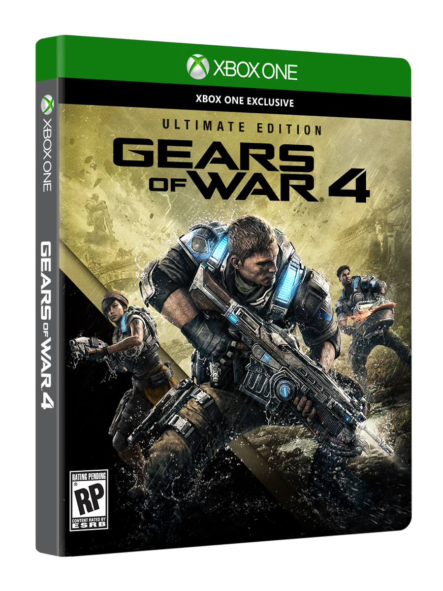 Gears of War 4: Ultimate Edition/XBOX ONE/PC/ACCOUNT