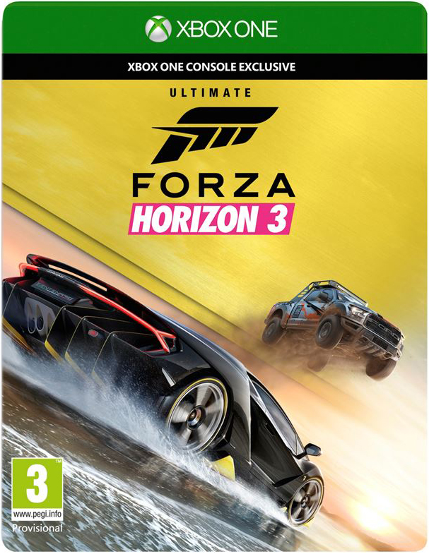 Forza Horizon 3 Ultimate+GOW 4 Ultimate/XBOX ONE