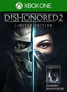 Dishonored 2 Limited Edition / XBOX ONE / ACCOUNT