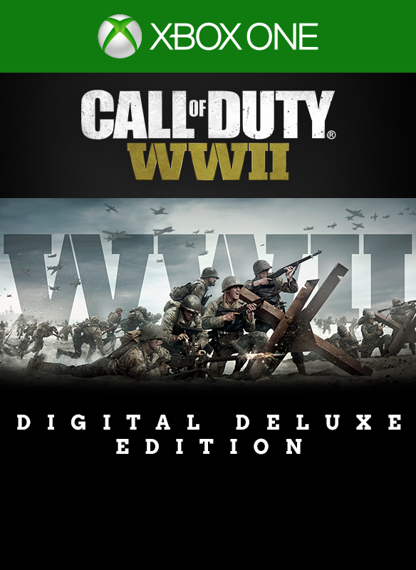 Call of Duty®: WWII - Deluxe / XBOX ONE / ACCOUNT