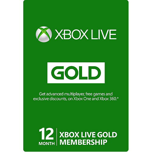 XBOX Live Gold 12 +1 month / CODE / Russia + all region