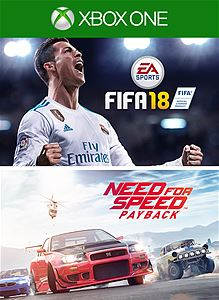 FIFA 18 + Need for Speed™ Payback | XBOX ONE | RENTALS