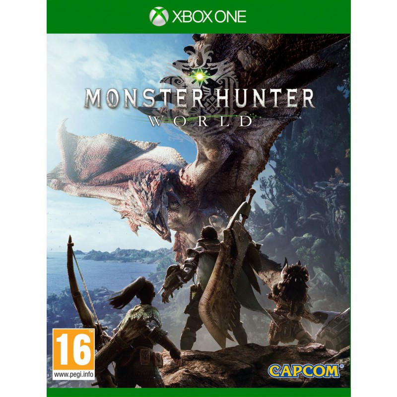 MONSTER HUNTER WORLD Deluxe +2 games| XBOX ONE |RENTALS
