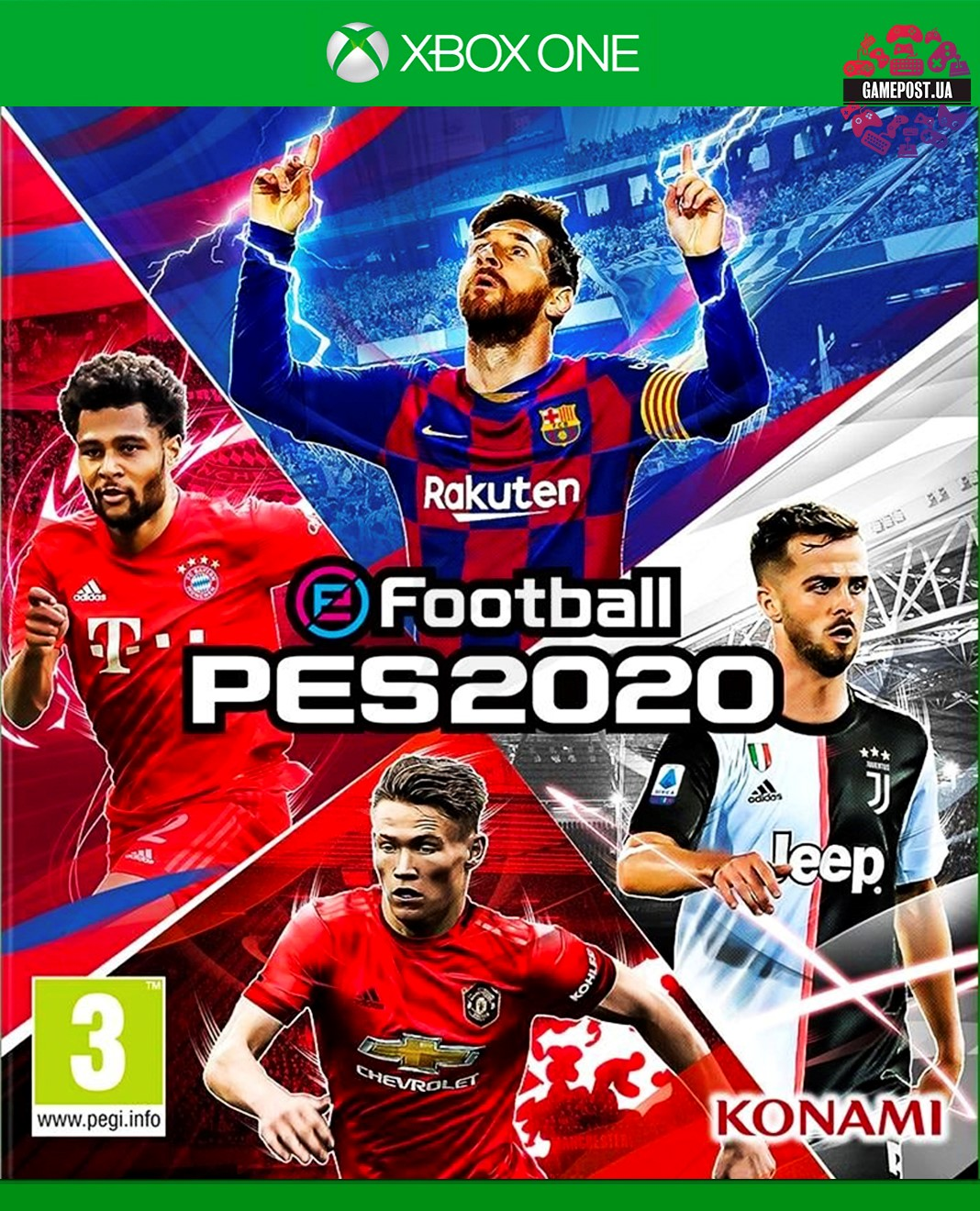 eFootball PES 2020 / XBOX ONE / KEY 🏅🏅🏅