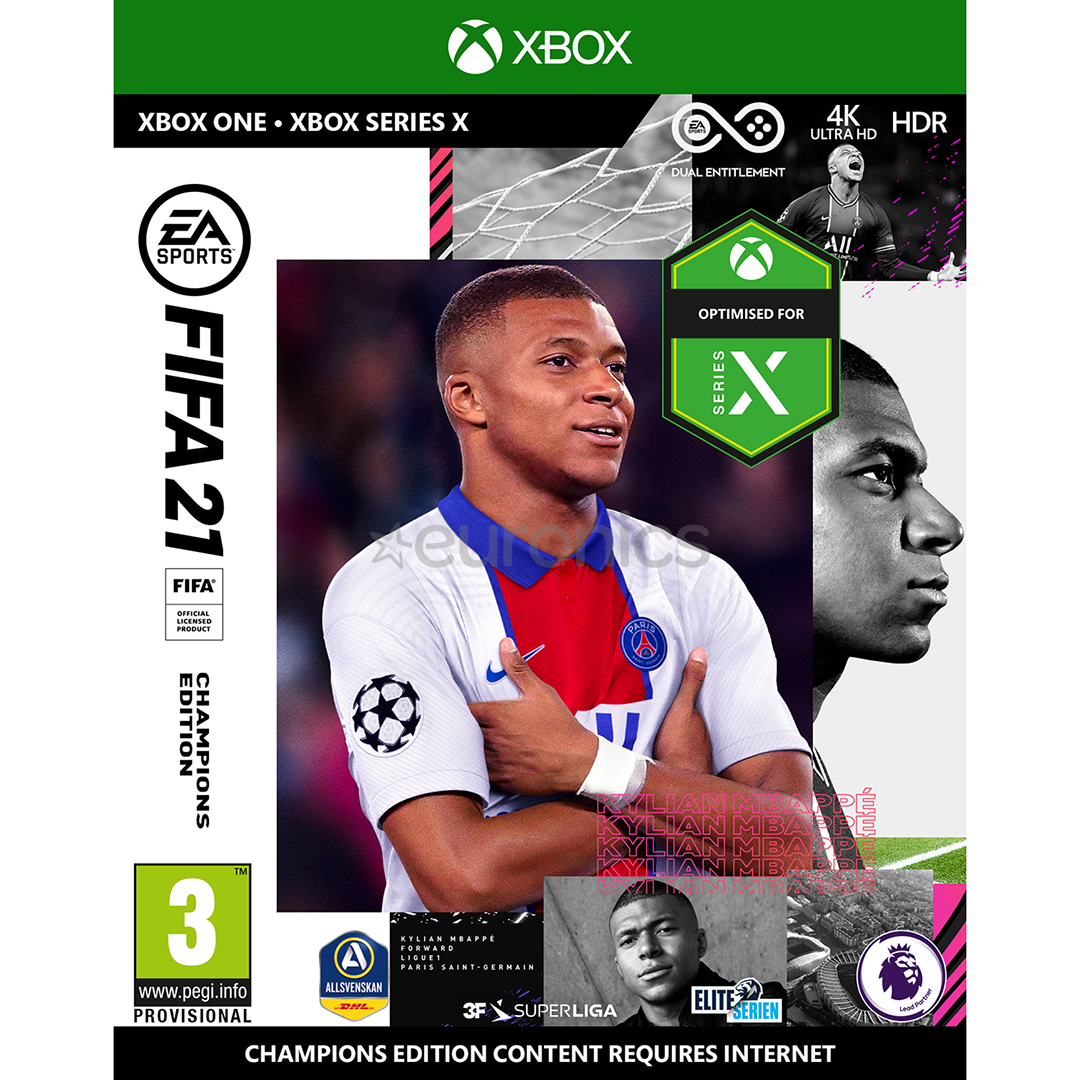 FIFA 21 Champions + PES 2021 SEASON UPDATE / XBOX ONE🏅