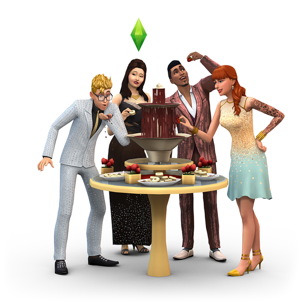 The Sims ™ 4 Dine Out + GUARANTEE