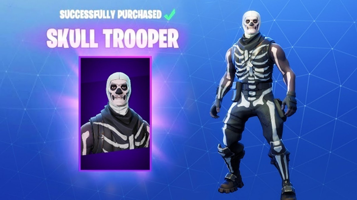 Buy Fortnite Epic Outfit Skull Trooper And Download