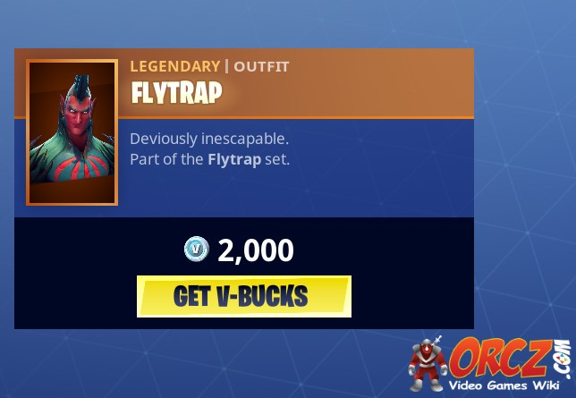 Fortnite Battle Royale: Flytrap