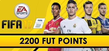 FIFA 17: 2200  Points DLC ORIGIN REG FREE
