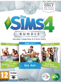 The Sims 4: Bundle 1 DLC ORIGIN GLOBAL