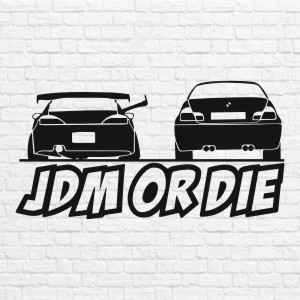 Jdm or die in vector
