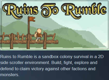 Фотография ruins to rumble (steam ключ) ✅ region free/global 💥🌐