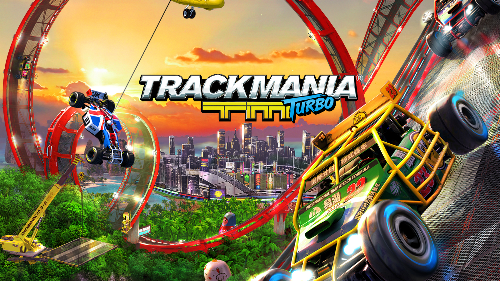 TRACKMANIA TURBO [ГАРАНТИЯ] &#128308