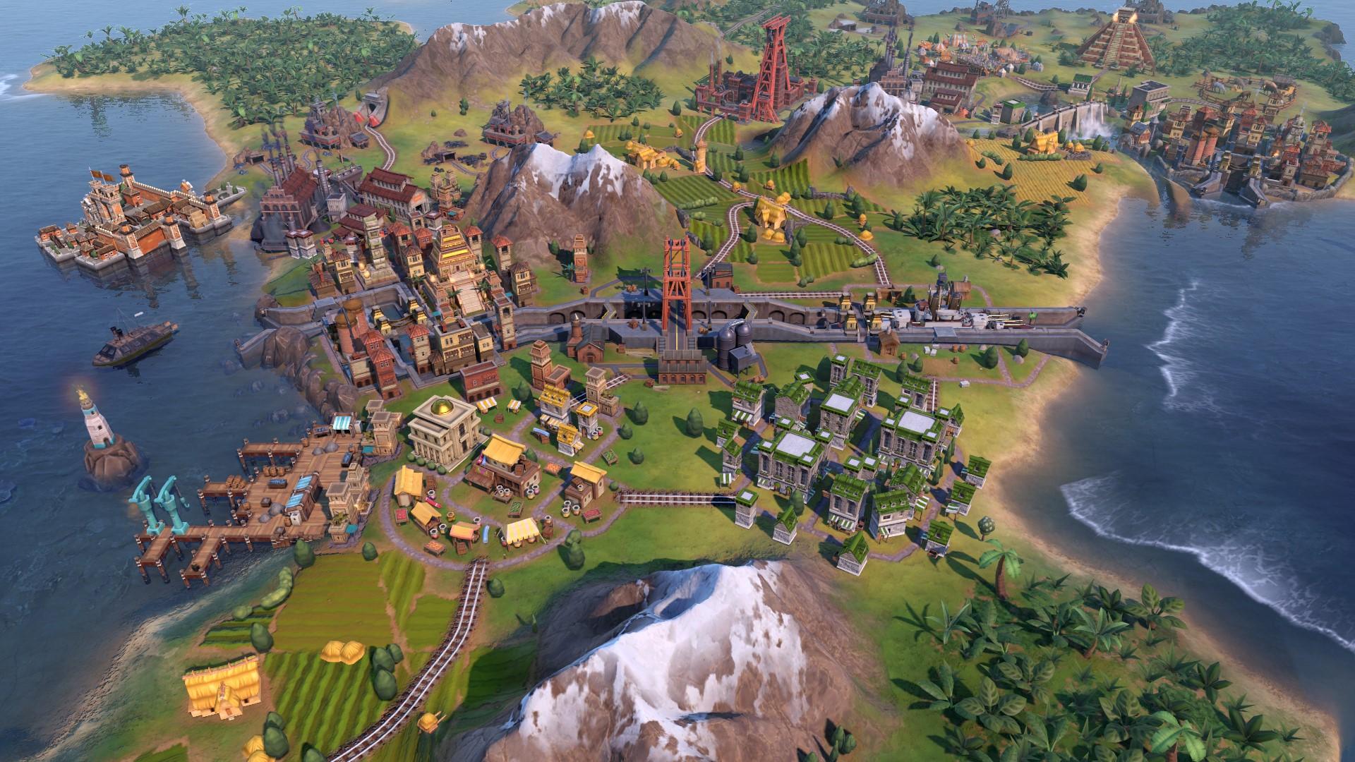 Sid Meier's Civilization VI: Gathering Storm (Steam RU) 2019