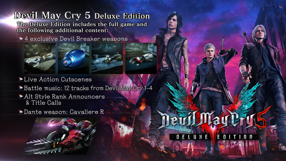 Devil May Cry 5 Deluxe (Steam RUSSIA)