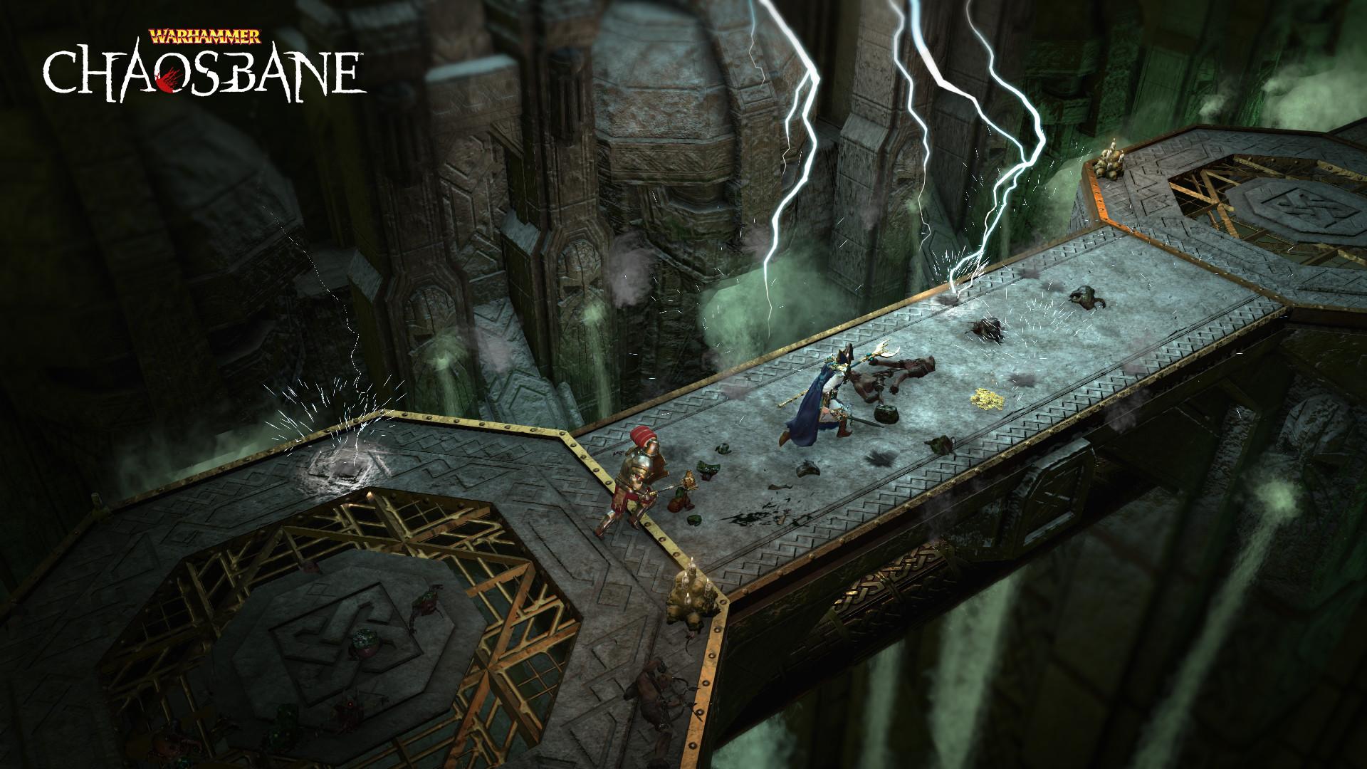 Warhammer: Chaosbane DELUXE (STEAM RUSSIA) 2019