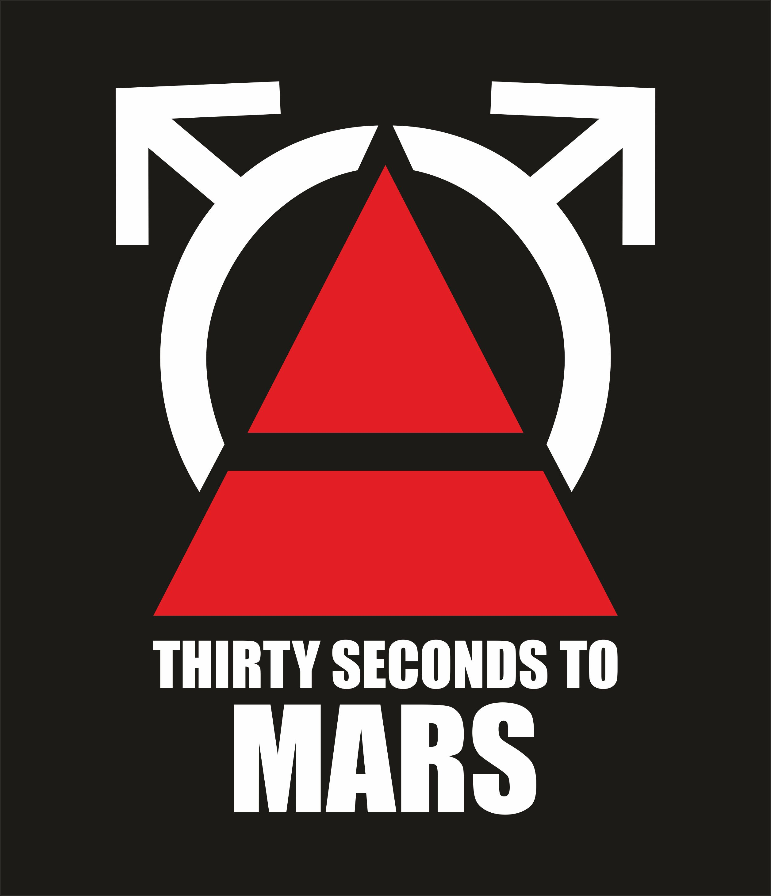 30 seconds to MARS vector image in Corel Draw