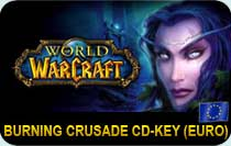 World of Warcraft Burning Crusade EURO cd-key