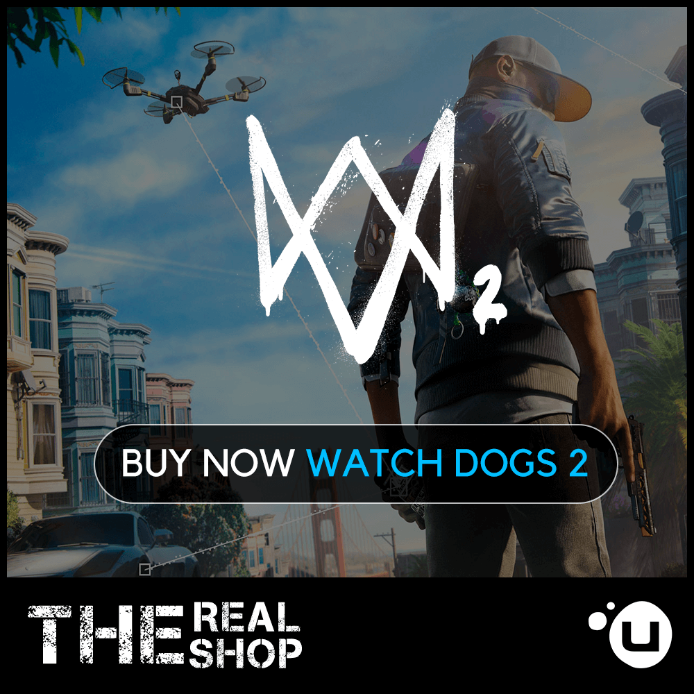 WATCH DOGS 2 | REGION FREE | WARRANTY | UPLAY &#9989