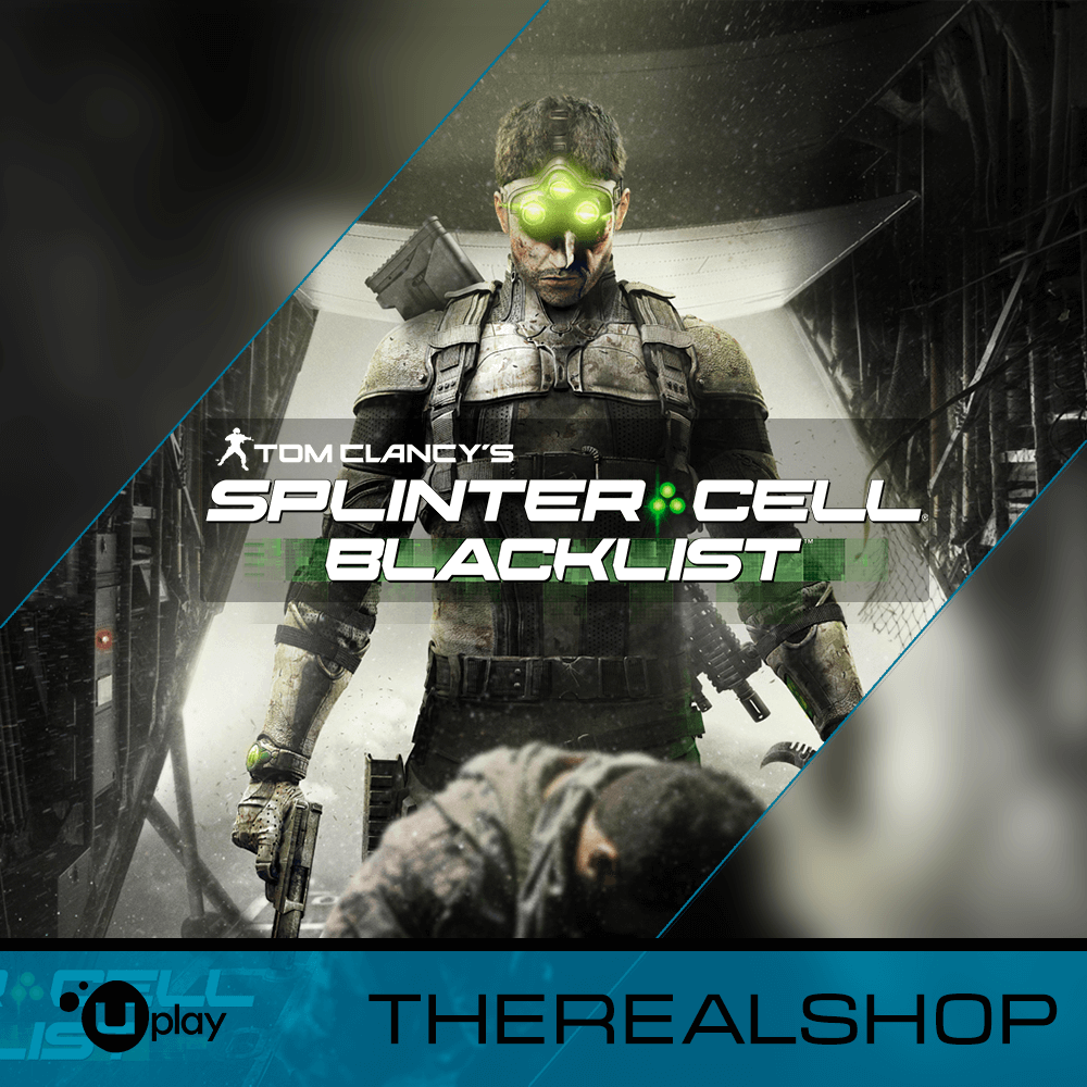 SPLINTER CELL BACKLIST | REGION FREE | CASHBACK | UPLAY