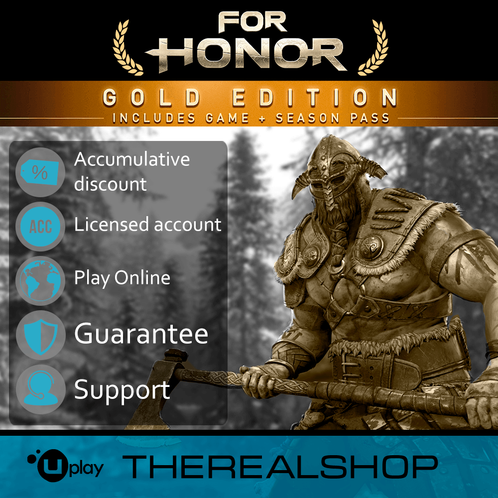 FOR HONOR GOLD SEASON PASS | CASHBACK | UPLAY ✅