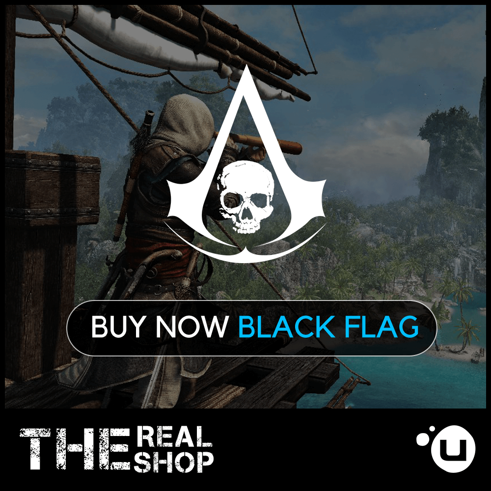 ASSASSINS BLACK FLAG | REGION FREE | UPLAY ✅