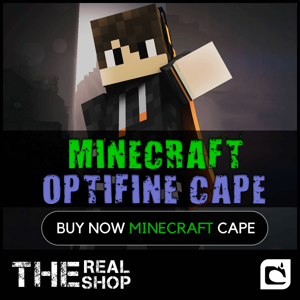 MINECRAFT CAPE RANDOM | OPTIFINE | CASHBACK ✅