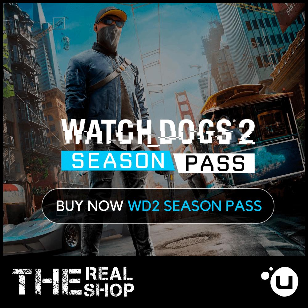 WATCH DOGS 2 | SEASON PASS | REGION FREE | UPLAY ✅