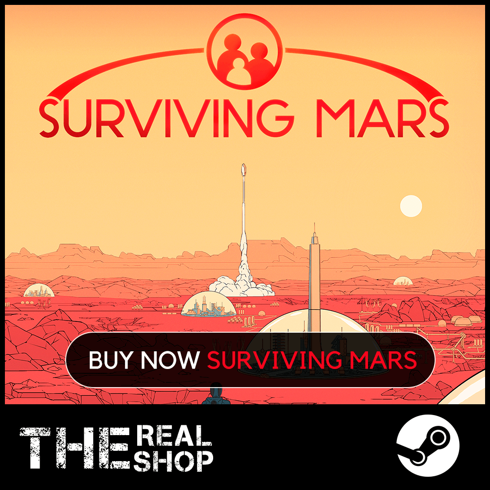 Surviving Mars | OFFLINE | REGION FREE | STEAM ✅