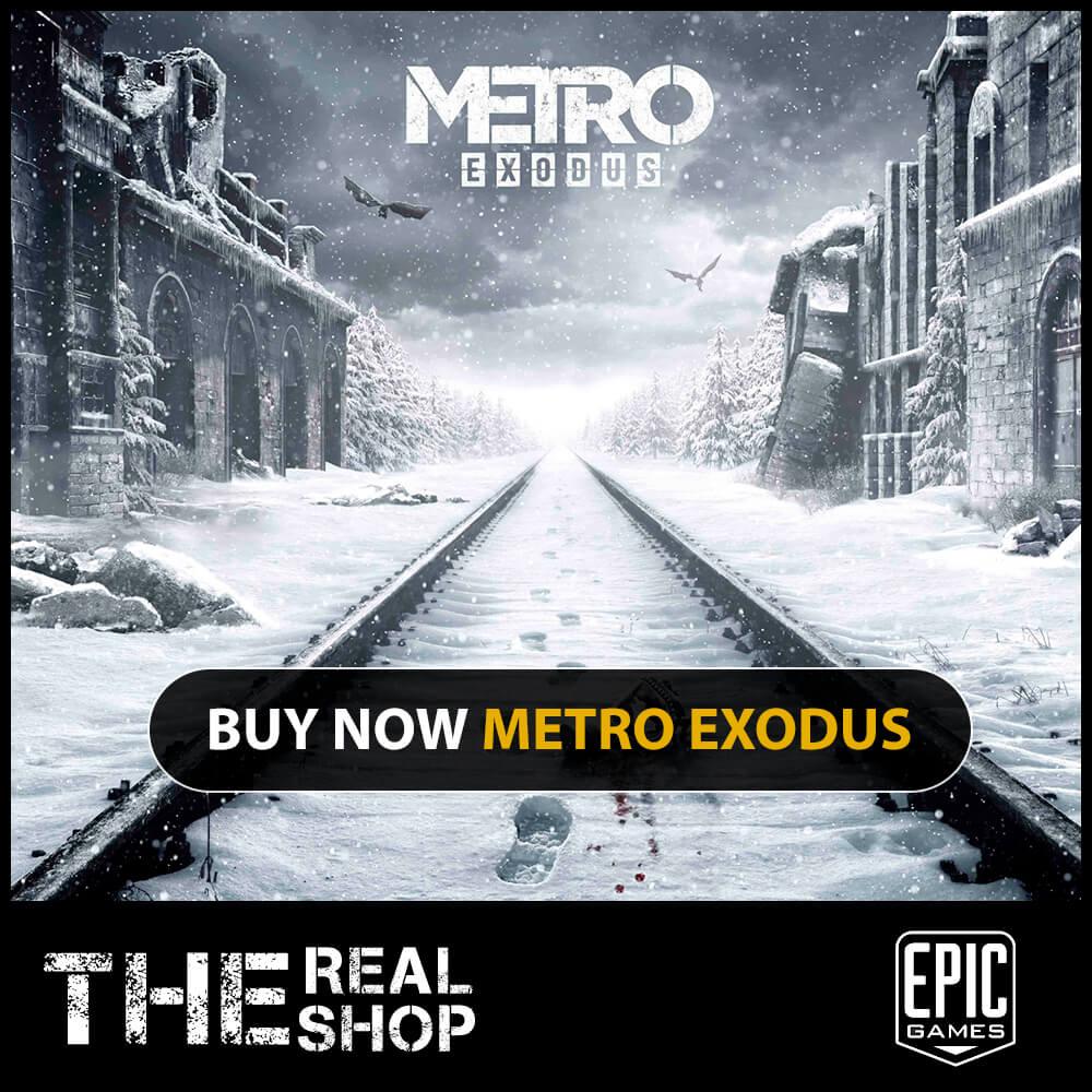 METRO EXODUS | CASHBACK | EPIC LAUNCHER 2019