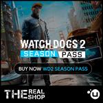 WATCH DOGS 2 SEASON PASS | REGION FREE | UPLAY
