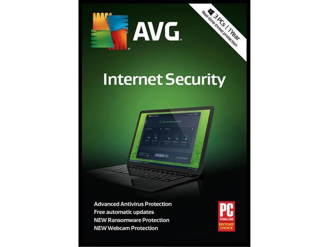 AVG Internet Security 2019 3PC 1y RegFree All Languages