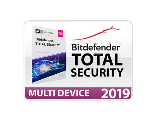 Bitdefender Total Security 2020/2019 3 months 5-PC