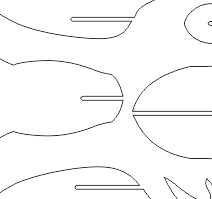 Vector File Of Rabbit Cardboard Head Template