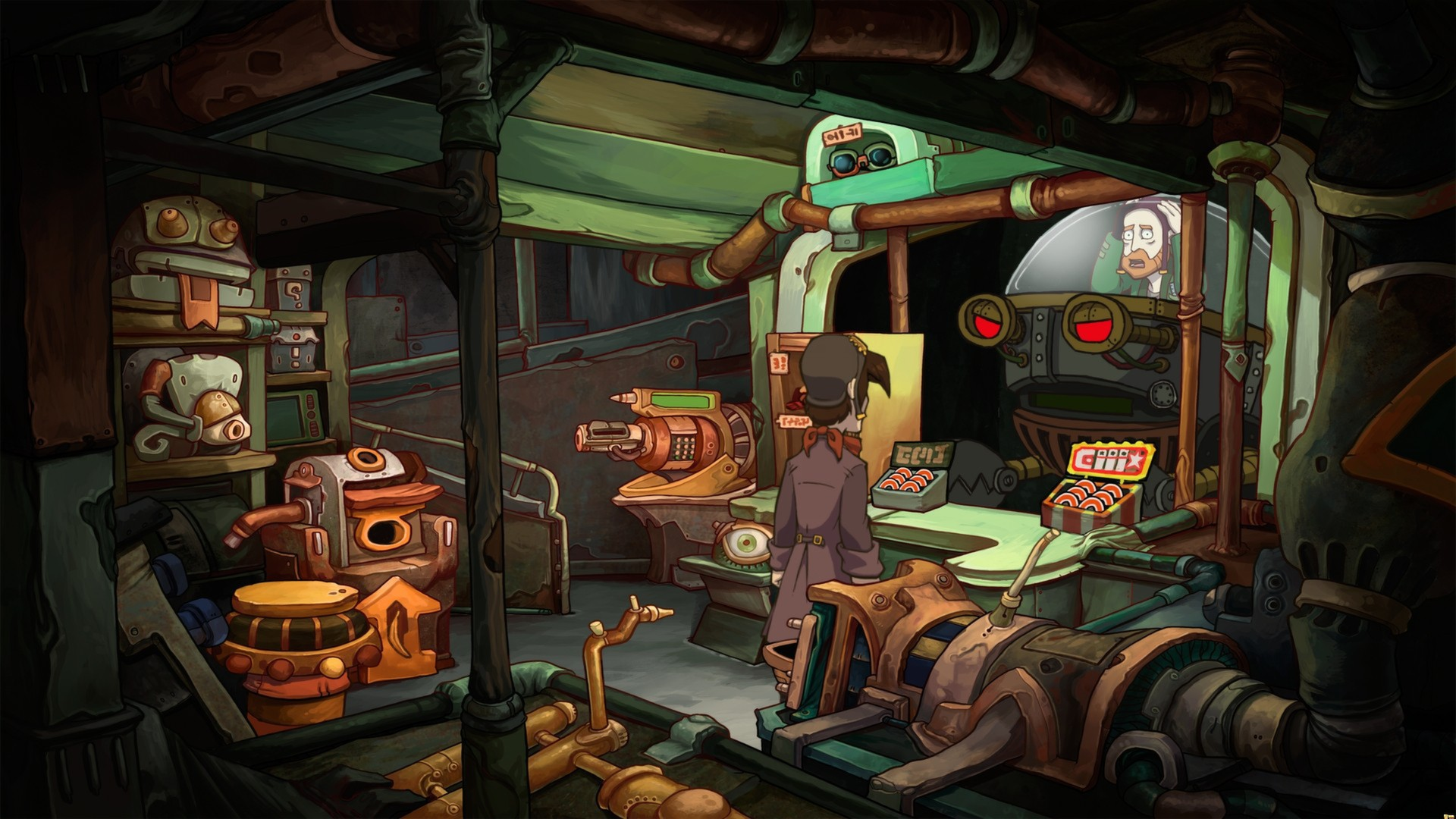 Chaos on Deponia (Steam Gift)