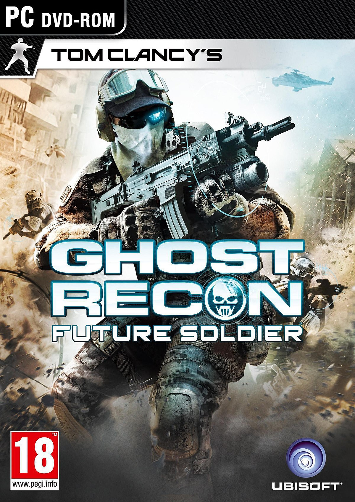 Tom Clancy's Ghost Recon Future Soldier+Гарантия