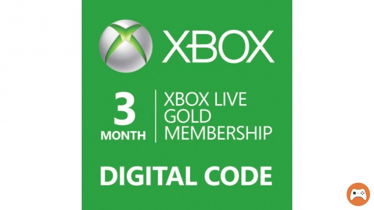 Xbox Live Gold 3 months Code (all countries +Russia)
