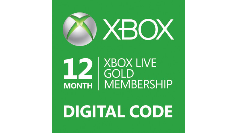 Xbox Live Gold 12 Months Digital Code Global