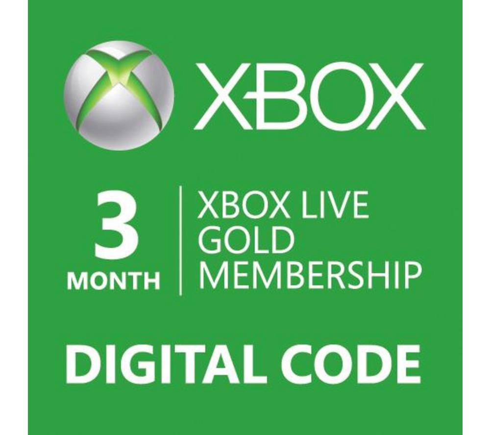 XBOX Live Gold 3  month / DIGITAL CODE / RU EU USA