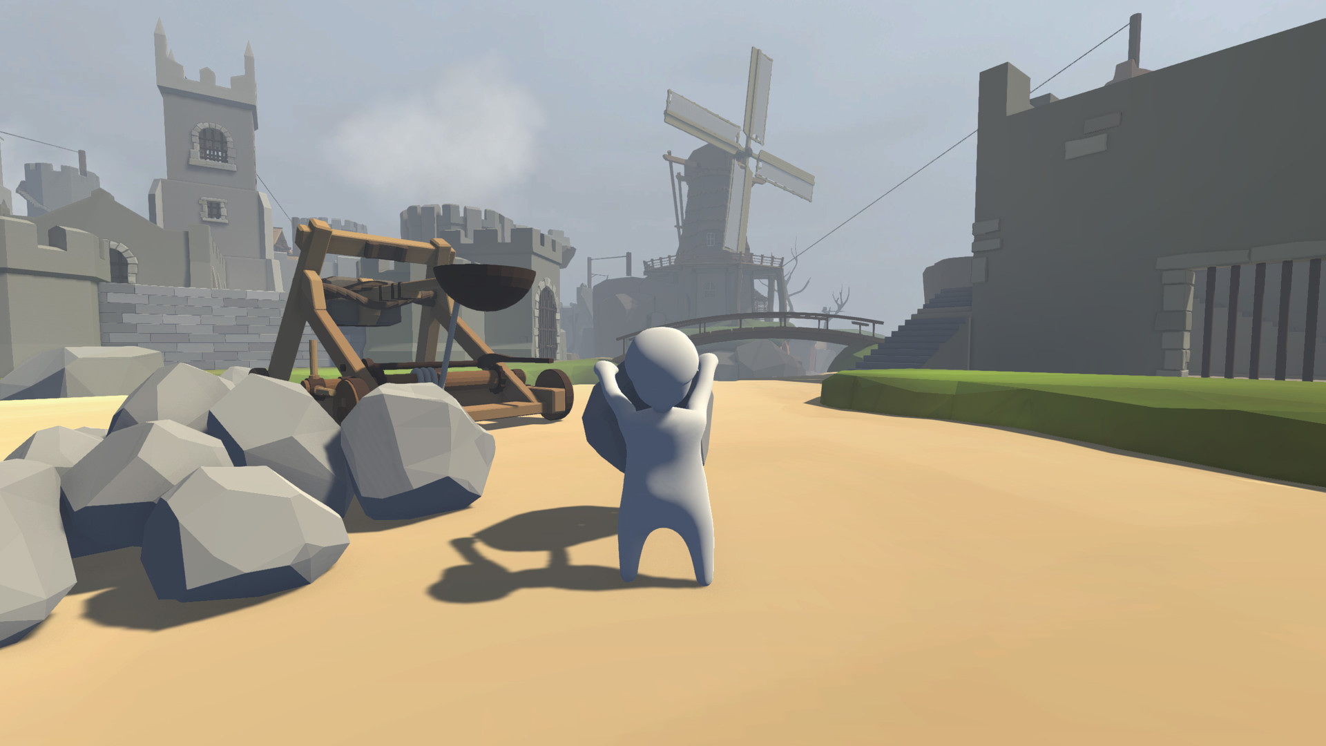 Human: Fall Flat. STEAM-key (Region Free)